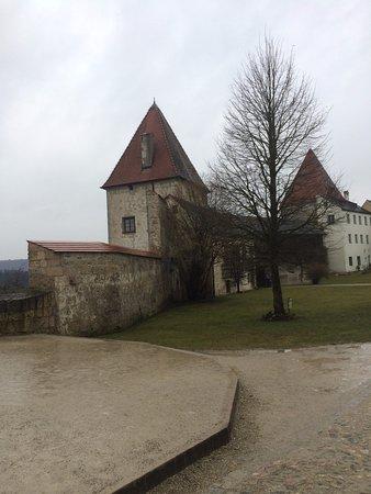 Burghausen, เยอรมนี: не снежинки на Рождество