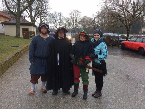 Burghausen, Germany: после Рождественского представления