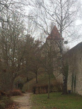 Burghausen, Germany: со стороны старого города
