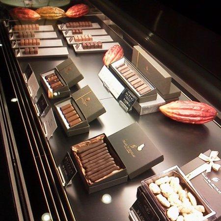 Fukuchiyama, Japão: 見るだけでも楽しいチョコレート