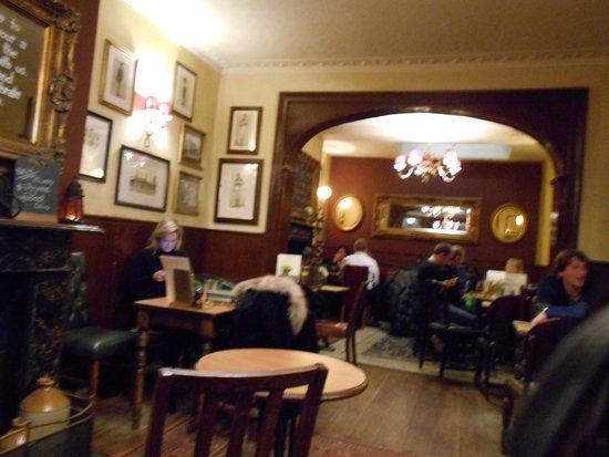 The Star Tavern: sala interna