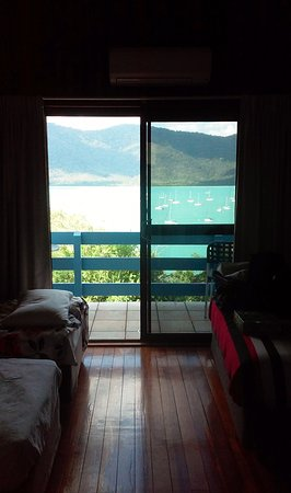 Shute Harbour, Australien: Just a small part of the stupendous view