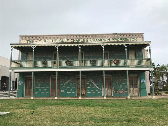 Port Isabel, TX: The historical building that houses the museum