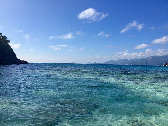 Four Seasons Resort Seychelles: Вот маленько сопровождение к моему рассказу 🐛🐢🐬🌄