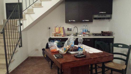 Borgo Papareschi: spazio utilizzabile cucina