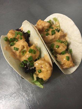 Gavin's Downtown: Bang Bang Shrimp Tacos