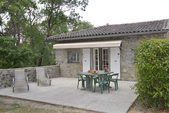 Ruoms, France: Terrasse Gîte 5