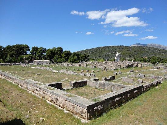 Epidavros, Greece: Ruins at Epidaurus