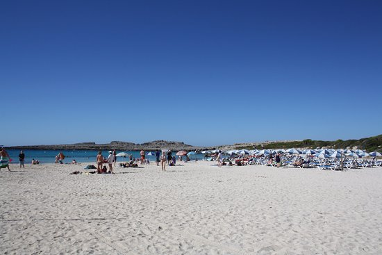 Binibeca, España: Spiaggia