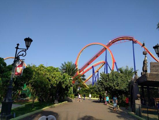 Imagica Theme Park: Nitro Track View