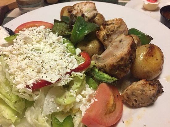 Fort Erie, Canadá: chicken souvlaki
