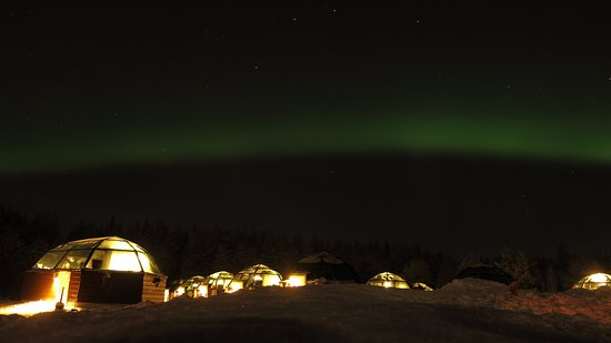 Arctic SnowHotel & Glass Igloos Photo