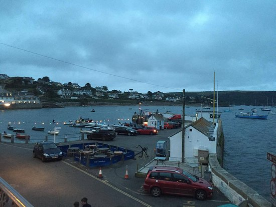 St Mawes, UK: view from dining area