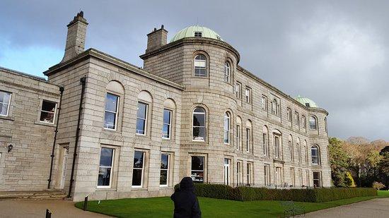 Enniskerry, Ireland: The house.