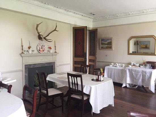 Princetown, UK: dining area