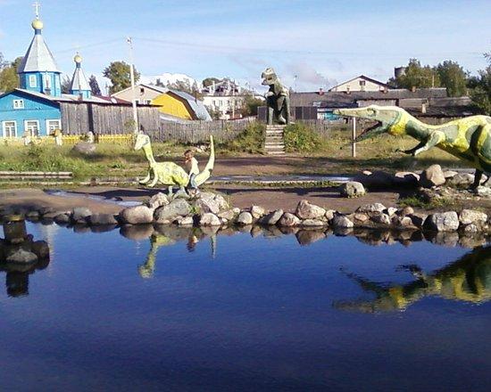 Konosha, รัสเซีย: На хвосте у динозавра
