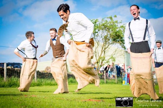 Edgworth, UK: A fun packed and relaxed wedding venue