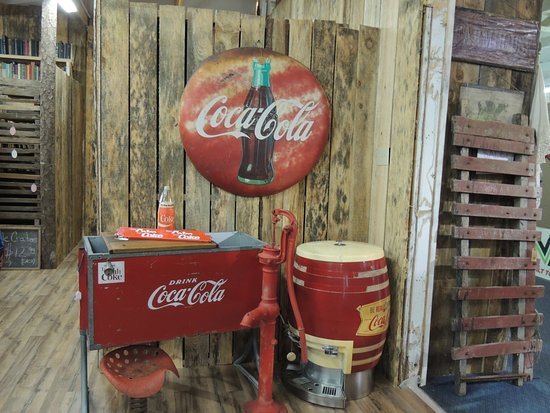 Bourbon, MO: Great Coke collectibles.