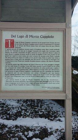 Montecopiolo, Italien: Parco Del Lago