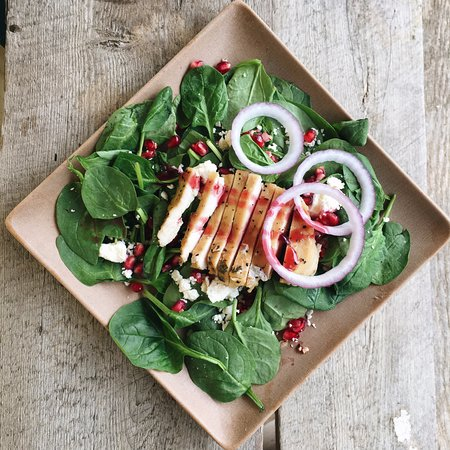 Tomato Pie Cafe: Featured salads