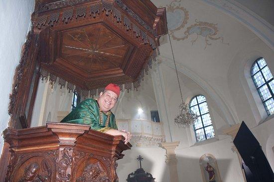 Clervaux, Luxembourg : Ich bin Pfarrer der Chapelle de N.D.de Loretta