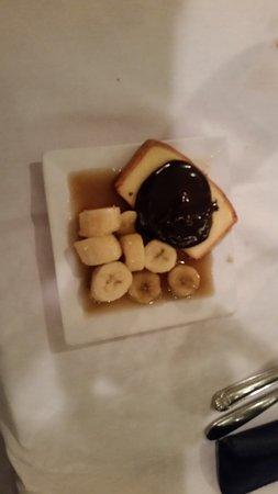 Apex, Carolina del Norte: Banannas Foster for dessert