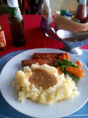 Bauang Beach: Another 180 pesos meal