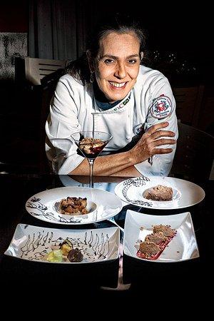 Marlia, Italy: Chef Ana D'Andréa Giordan