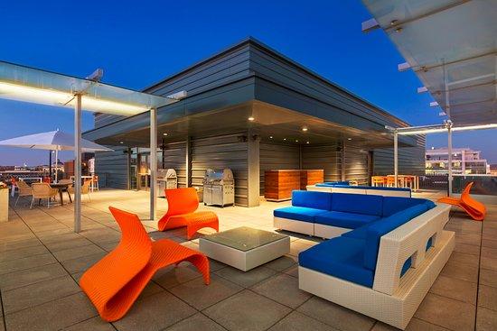 Homewood Suites By Hilton Washington DC Capitol Navy Yard: Rooftop Terrace