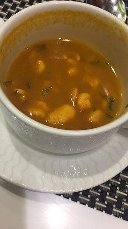 Seeb, Oman: Tom Yum soup