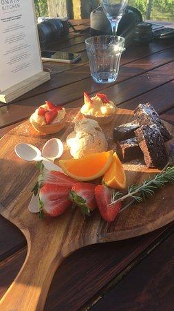 Рассел, Новая Зеландия: Nachtisch - sehr lecker