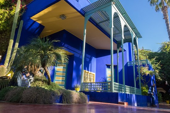 bleu majorelle picture of jardin majorelle marrakech tripadvisor. Black Bedroom Furniture Sets. Home Design Ideas