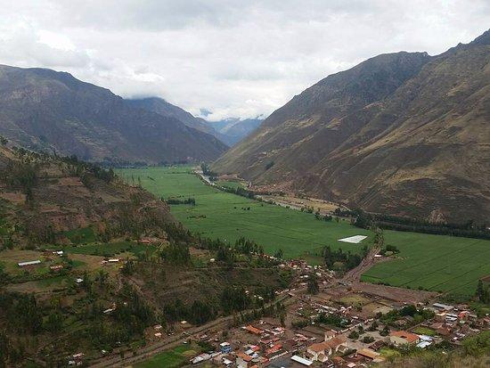Cusco Region, Peru: Uma vista das plantações no Vale