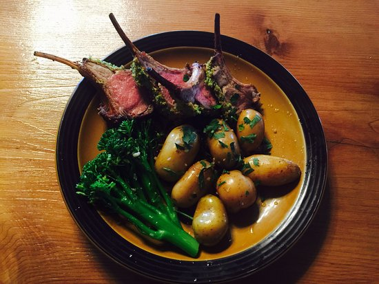 Libby, MT: Rack of Lamb