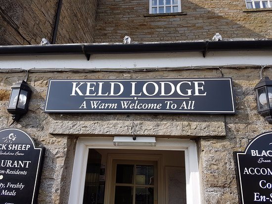 Keld, UK: front door
