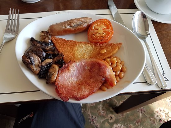 Keld, UK: Full English with fried bread