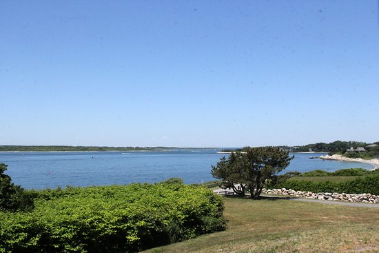 Woods Hole, MA: View from Nobska Point Lighthouse
