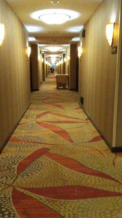 We-Ko-Pa Resort & Conference Center: 5th floor hallway.