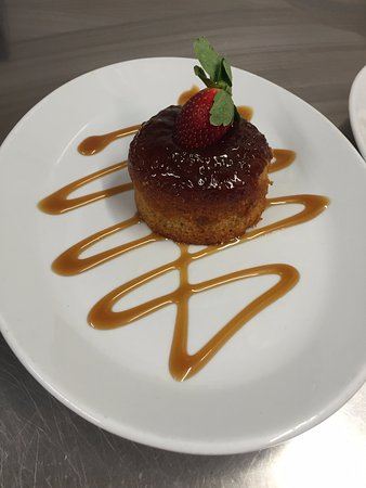 The Cross Keys Inn: Sticky Toffee Pudding