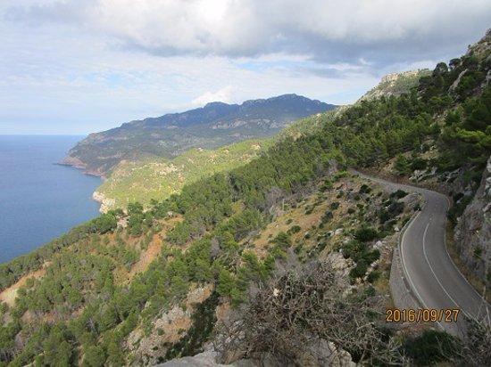 Estellencs, Hiszpania: Vy1 från utomhusdäcket