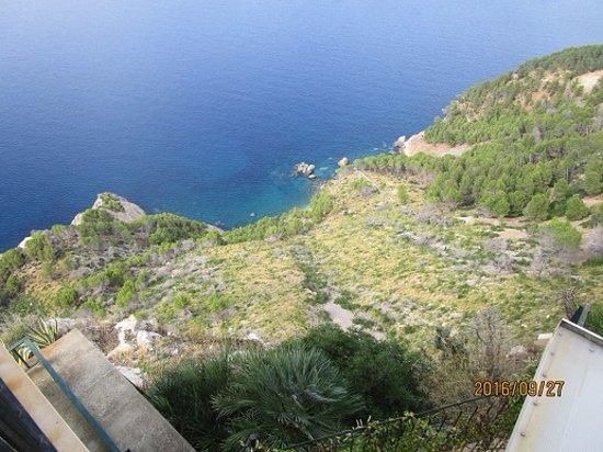 Estellencs, Hiszpania: Vy3 från utomhusdäcket