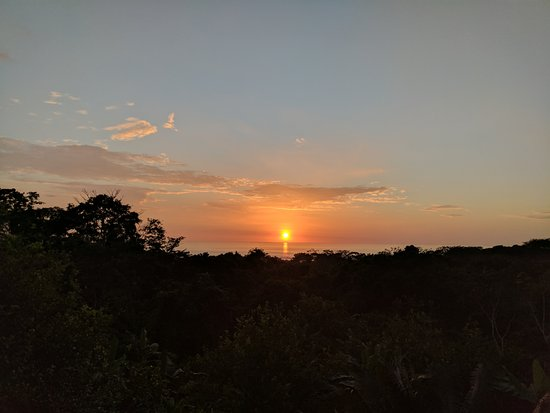 Manzanillo, Costa Rica: Sunset from the room