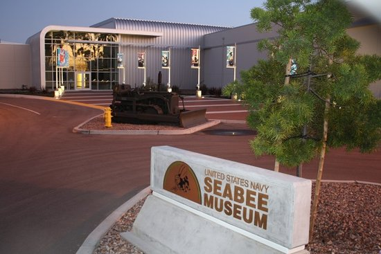 ‪‪Port Hueneme‬, كاليفورنيا: Seabee Museum Entrance‬