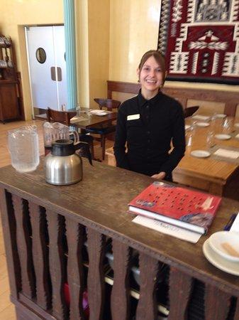 Las Vegas, Nuevo Mexico: Our Delightful Server