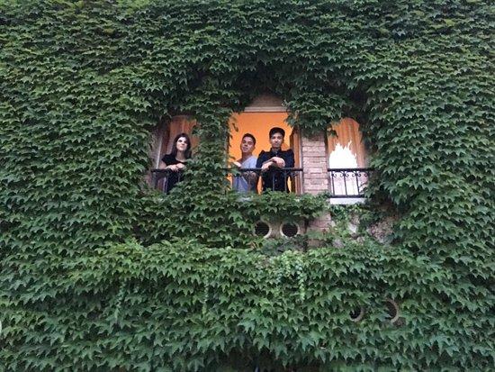 Hotel Locanda Al Castello: Лучшее окно, которое я видела!