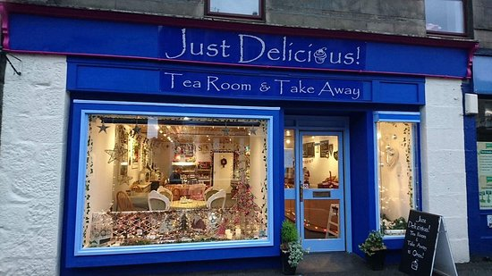 Grantown-on-Spey, UK: Just Delicious Tearoom and Takeaway!