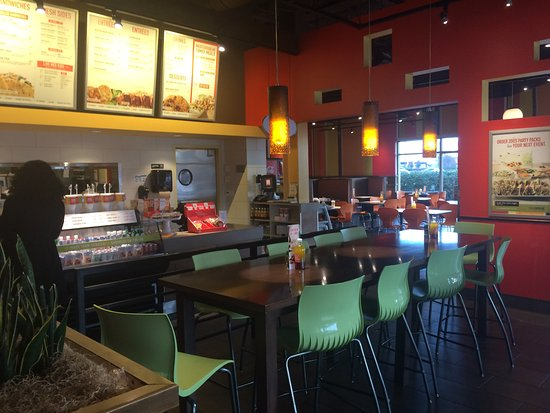 Color Scheme Picture Of Zoes Kitchen Fairview Tripadvisor