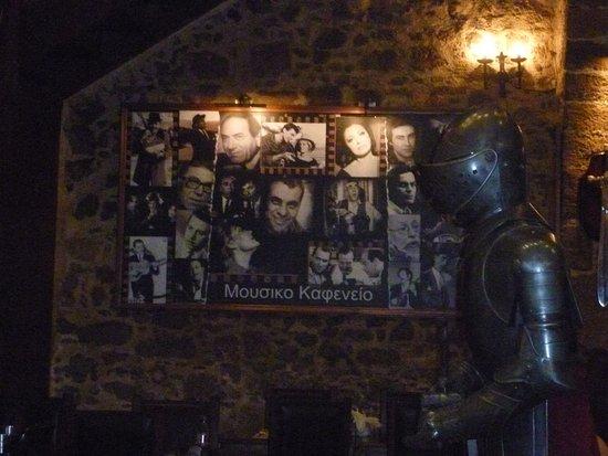 Déco du restaurant foto van island lipsi rhodos tripadvisor