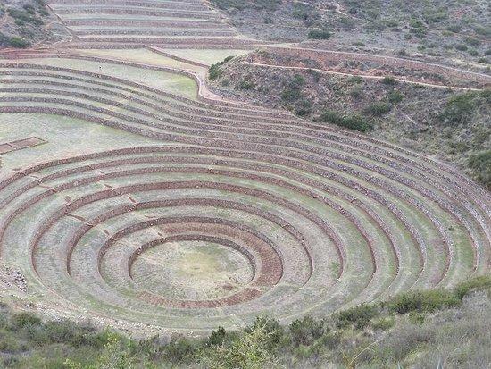 Maras, Perú: laboratório agrícola.