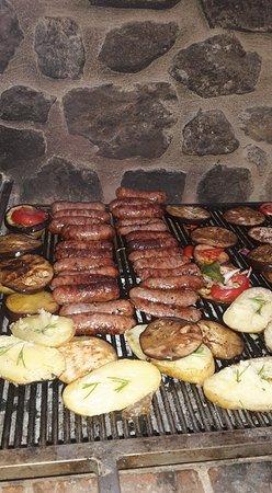 Larciano, Italia: barbecue